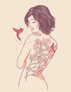 illustration,melrose,girl,cherry,tattoo-ffc7c4ee789fd08c147096b415f5d47f_h
